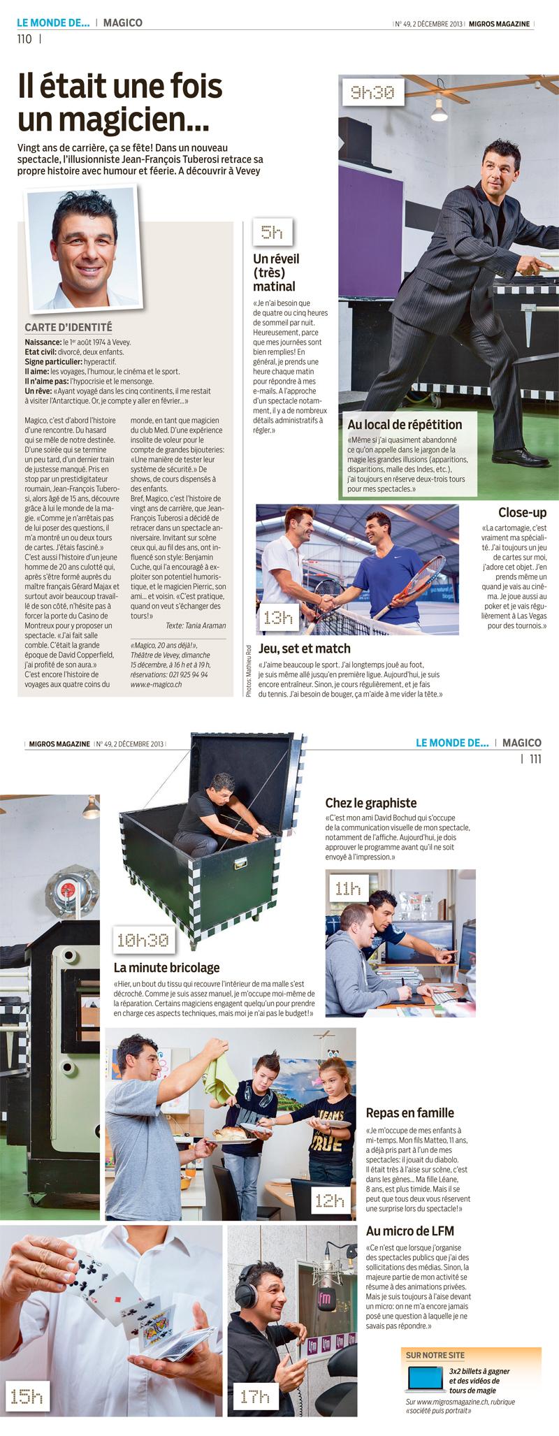 Migros Magazine 02-12-2013
